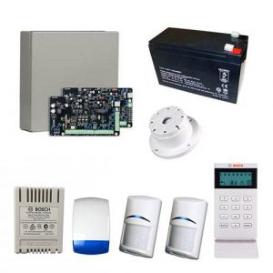 Bosch Solution 2000 Alarm System With 2 x Gen 2 Quad Detectors