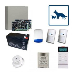 Bosch Solution 2000 Alarm System With 2 x Gen 2 TriTech Detectors
