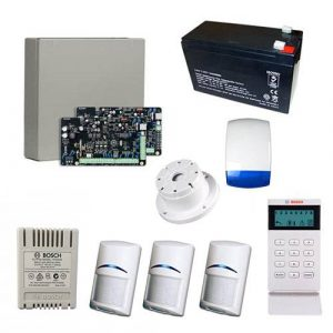 Bosch Solution 3000 Alarm System With 3 x Gen 2 PIR Detectors