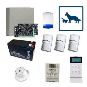 Bosch Solution 3000 Alarm System With 3 x Gen 2 TriTech Detectors