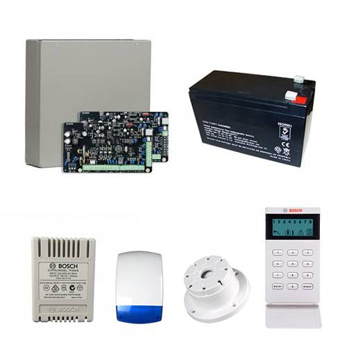 Bosch Solution 3000 Alarm System + No Detector Kit