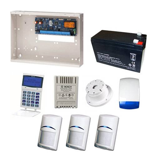Bosch Solution 6000 Alarm System With 3 x Gen 2 PIR Detectors