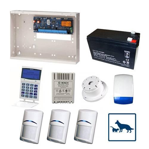 Bosch Solution 6000 Alarm System With 3 x Gen 2 TriTech Detectors
