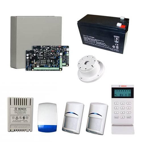 Bosch Solution 2000 Alarm System With 2 x Gen 2 Quad Detectors