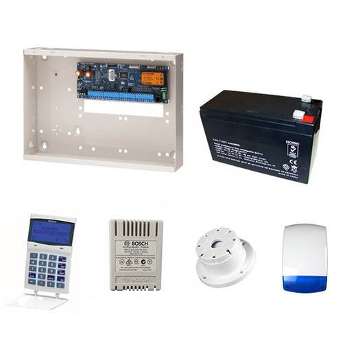 Bosch Solution 6000 Alarm System + No Detector Kit