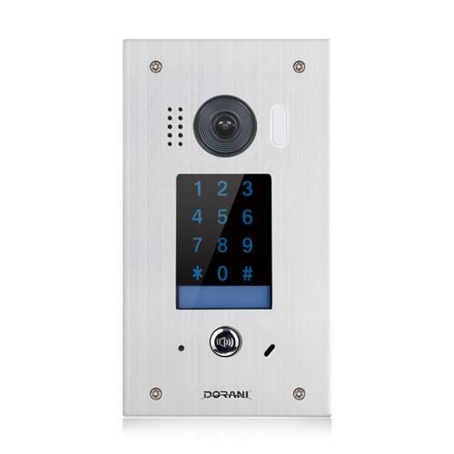 Flush Keypad Door for Video Intercom System