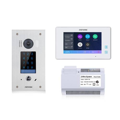 Keypad Flush Mount Touch Kit with WiFi for Video Intercom System