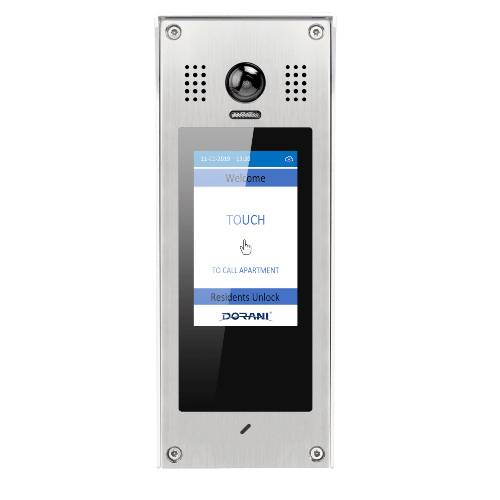 C10 TCP/IP Surface Apartment Door Station for Video Intercom Systems